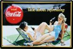 Coca Cola - talk about refreshing  Coca Cola Sammlertablett - Lady 1923 Coca Cola Sammlertablett - 2 Kids play: Produkte für Freunde der Fahrzeugtechnik: Auto, Motorrad, Flugzeug, Bahn, Fahrrad